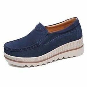 Comfy Slip-On Platform Shoes